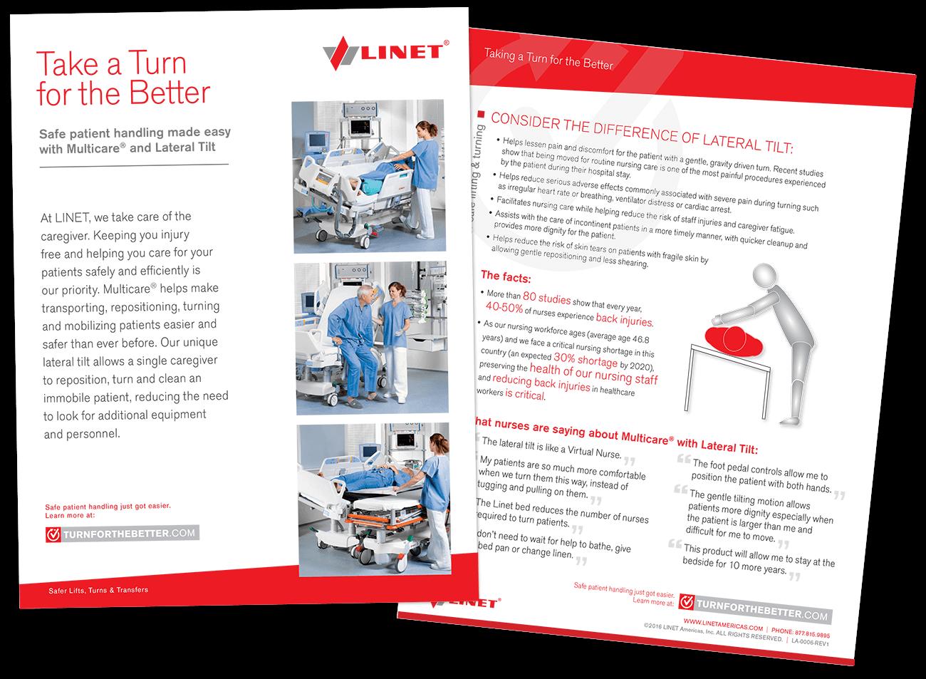 Linet Sales Brochure