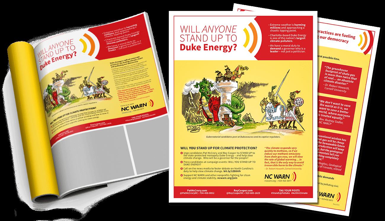 NC Warn Print Campaign