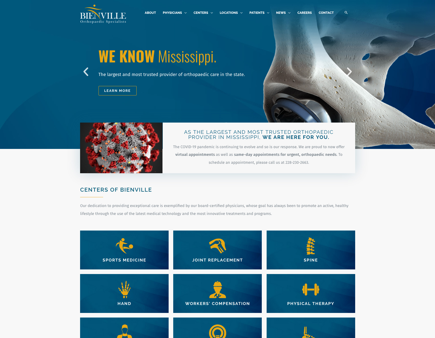 Bienville Orthopaedic Specialists